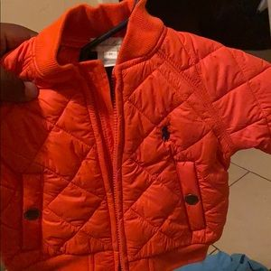 Infant polo jacket 3months